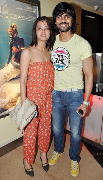 Surveen Chawla and Gaurav Chopra