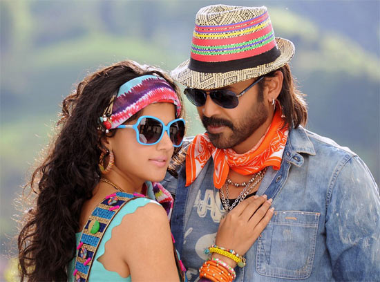 Taapsee Pannu and Venkatesh in Shadow