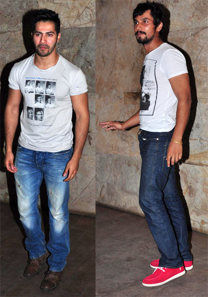Varun Dhawan and Randeep Hooda