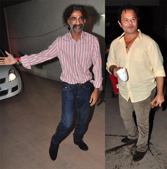 Makrand Deshpande and Raj Zutshi
