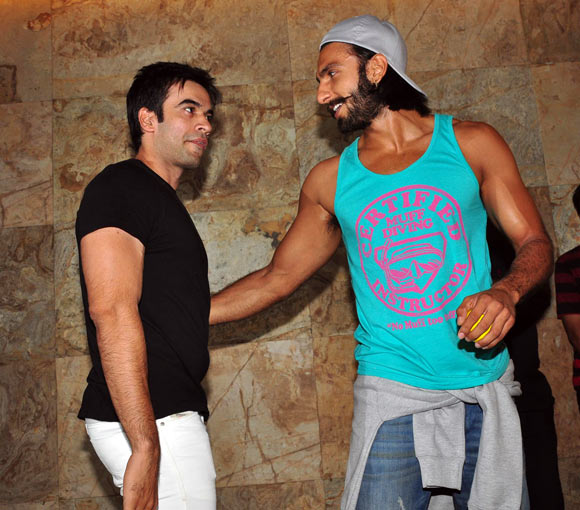 Punit Malhotra and Ranveer Singh