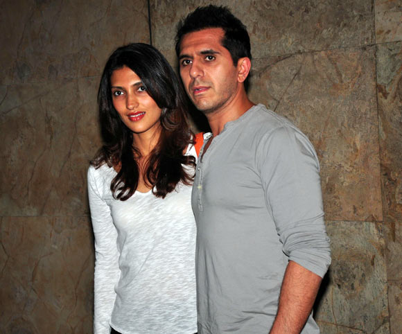 Ritesh and Dolly Sidhwani