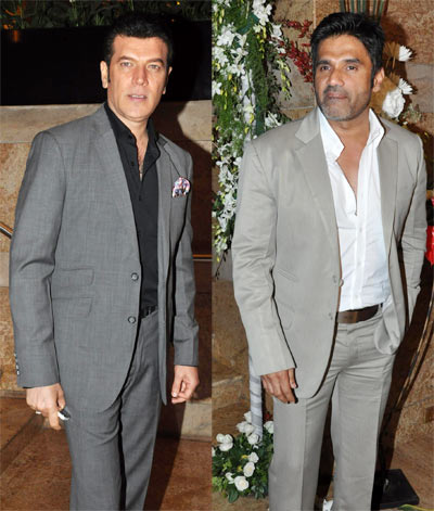 Aditya Pancholi and Suniel Shetty