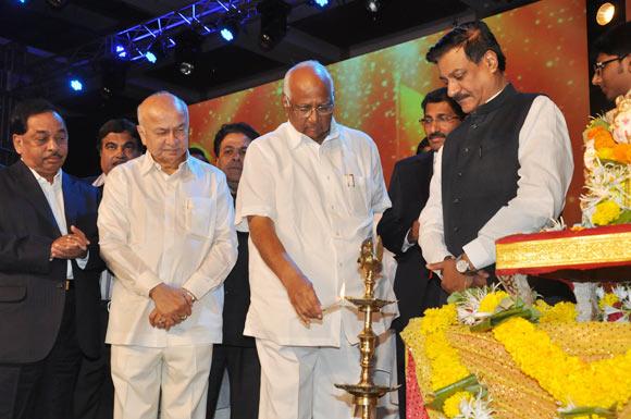 Narayan Rane, Sushil Kumar Shinde, Sharad Pawar and Prithviraj Chavan