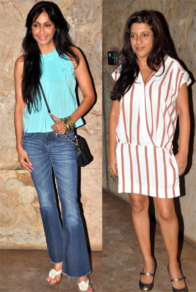 Sunita Gowariker and Zoya Akhtar