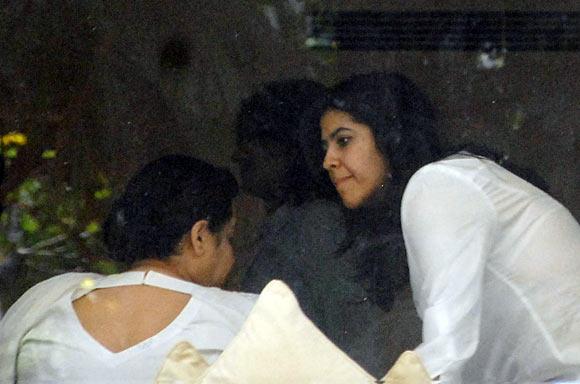 Ekta Kapoor with her mother Shobha