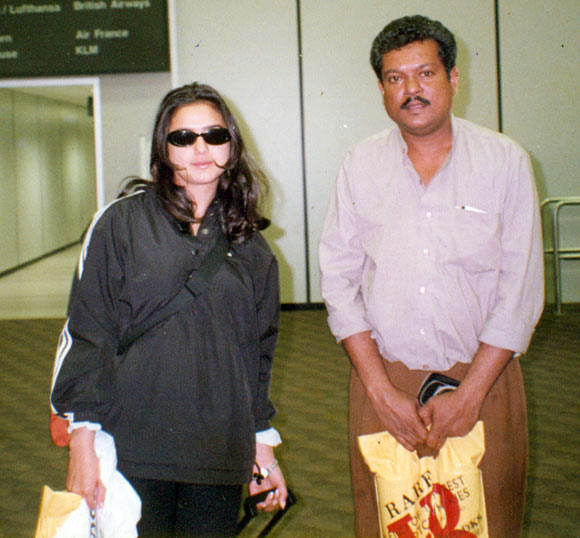 Purshottam Shetty with Preity Zinta