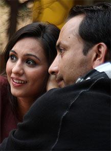 Priya Bathija and Deepak Dobriyal in Chor Chor Super Chor