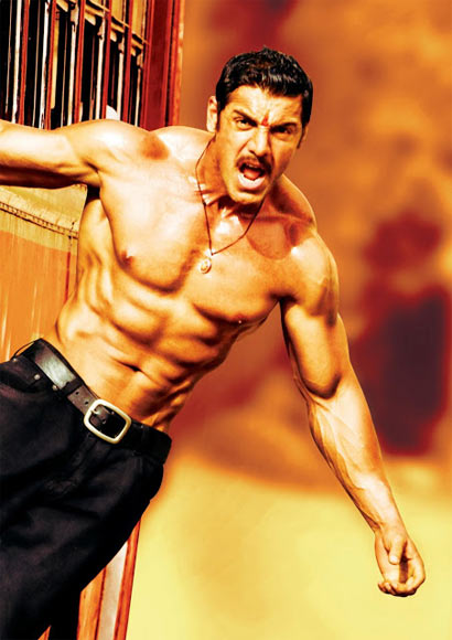 John AbrahamJohn Abraham Body Building In Shootout At Wadala