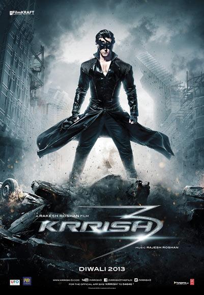 Movie poster of Krrish 3