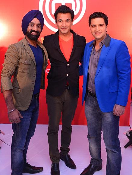 Surjan Singh, Vikas Khanna, Kunal Kapur