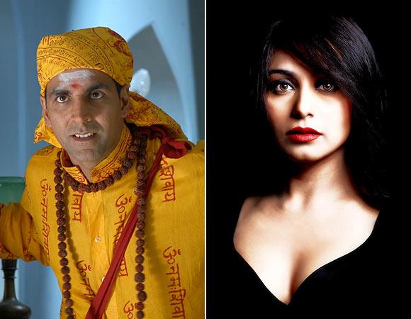 Akshay Kumar in Bhool Bhulaiyaa, Rani Mukerji in Laaga Chunari Mein Daag