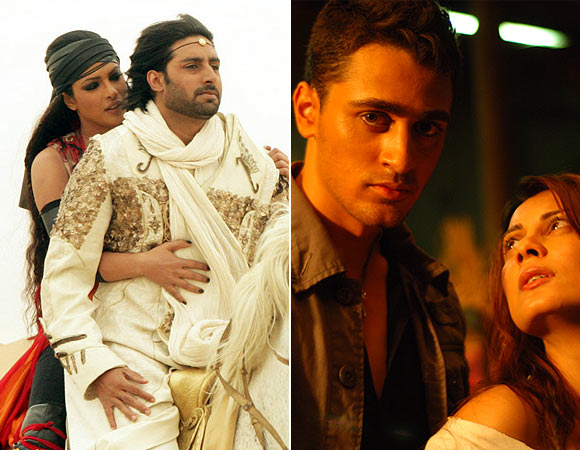 Priyanka Chopra and Abhishek Bachchan in Drona, Imran Khan and Minissha LambaKidnap