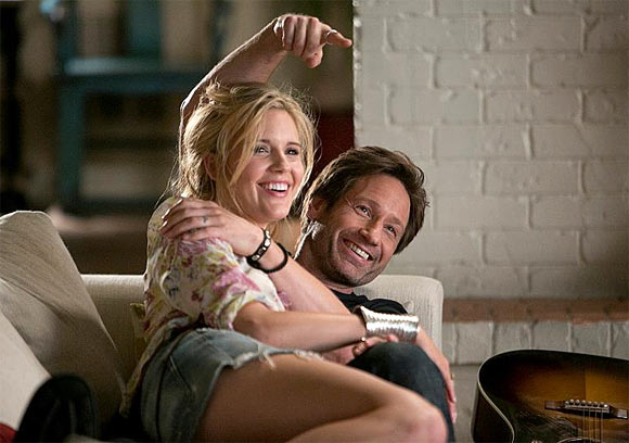 David Duchovny and Maggie Grace in Californication