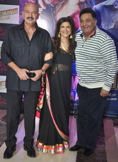 Rakesh and Pinki Roshan, Rishi Kapoor