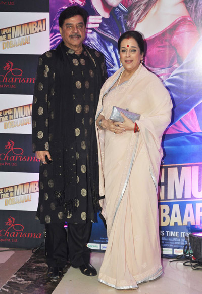 Shatrughan and Poonam Sinha