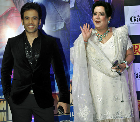 Tusshar and Shobha Kapoor
