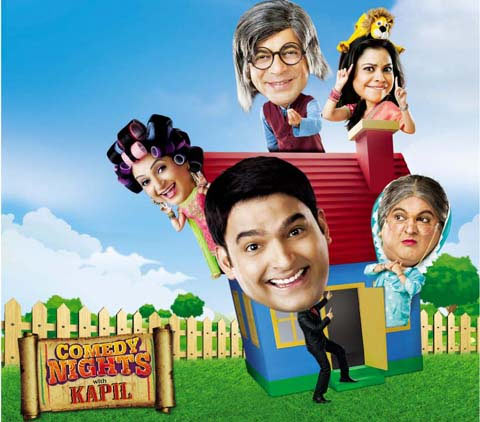 The Comedy Nights with Kapil poster