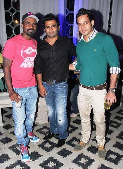 Remo D'Souza, Sachiin Joshi and Bhatath Niwas