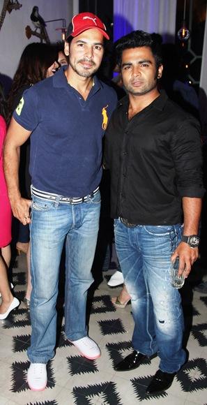 Sachiin Joshi and Dino Morea