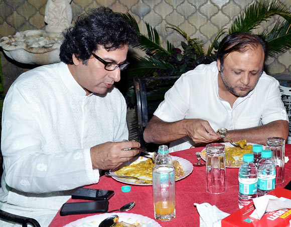 Talat Aziz and Asif Bhamla