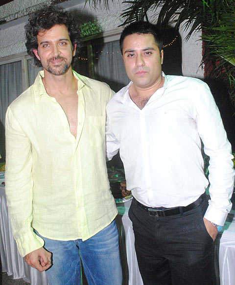 Hrithik Roshan and Waahiid Ali Khan