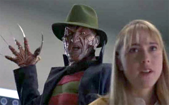A scene from Nightmare On Elm Street