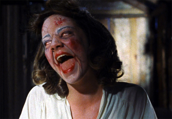 A scene from Evil Dead