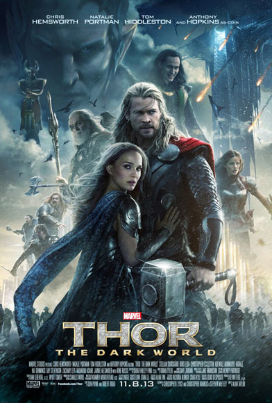 The Thor: The Dark World poster