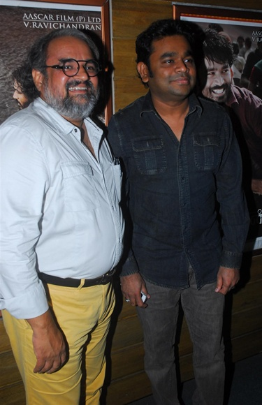 Bharat Bala and A R Rahman