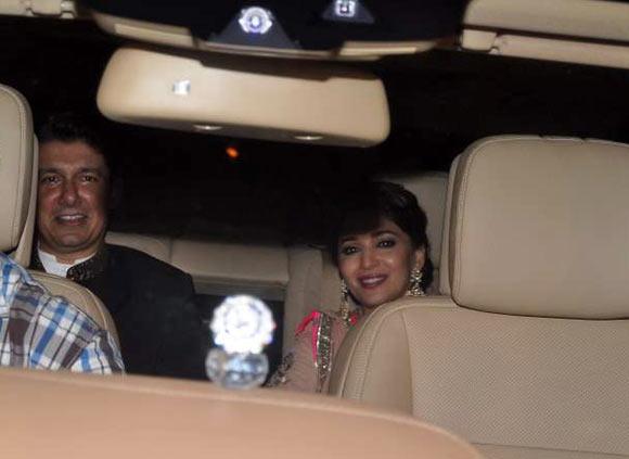 Dr Sriram Nene and Madhuri Dixit