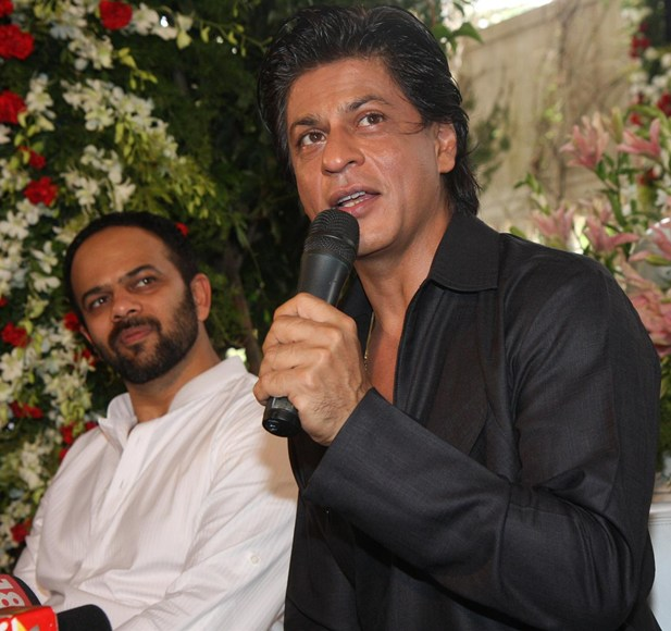 Rohit Shetty and Shah Rukh Khan