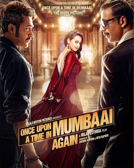 Movie poster of Once Upon A Time In Mumbaai Dobaara!