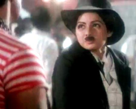 Sridevi in Mr India