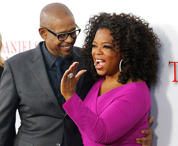 Forest Whittaker and Oprah