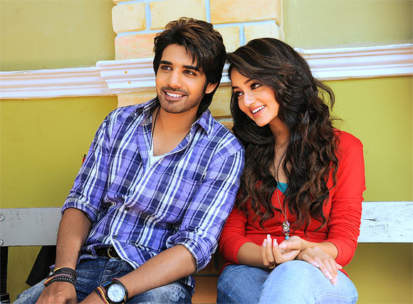 Shanvi and Sushanth in Adda