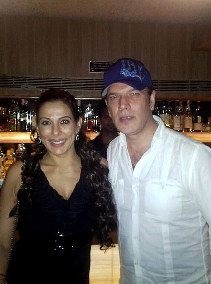 Pooja Bedi and Aditya Pancholi