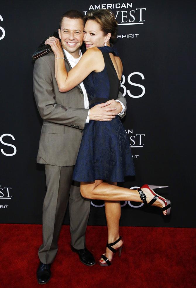 Jon Cryer with wife Lisa Joyner