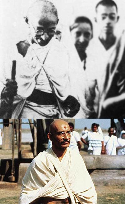 Mohandas Karamchand Gandhi, Ben Kingsley in Gandhi