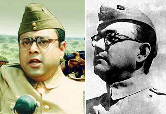 Sachin Khedekar as Subhash Chandra Bose, Netaji Subhash Chandra Bose