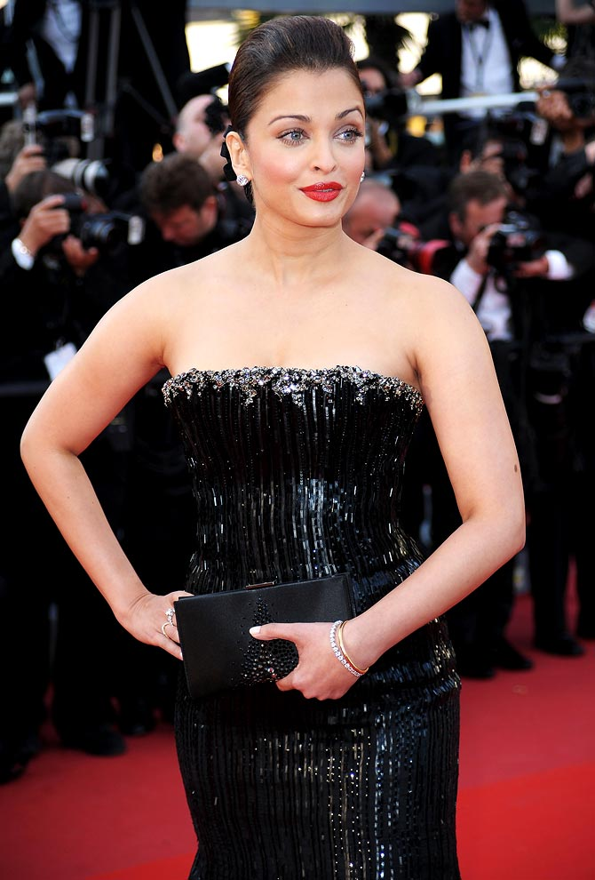 Aishwarya Rai Bachchan at the 63rd Cannes Film Festival