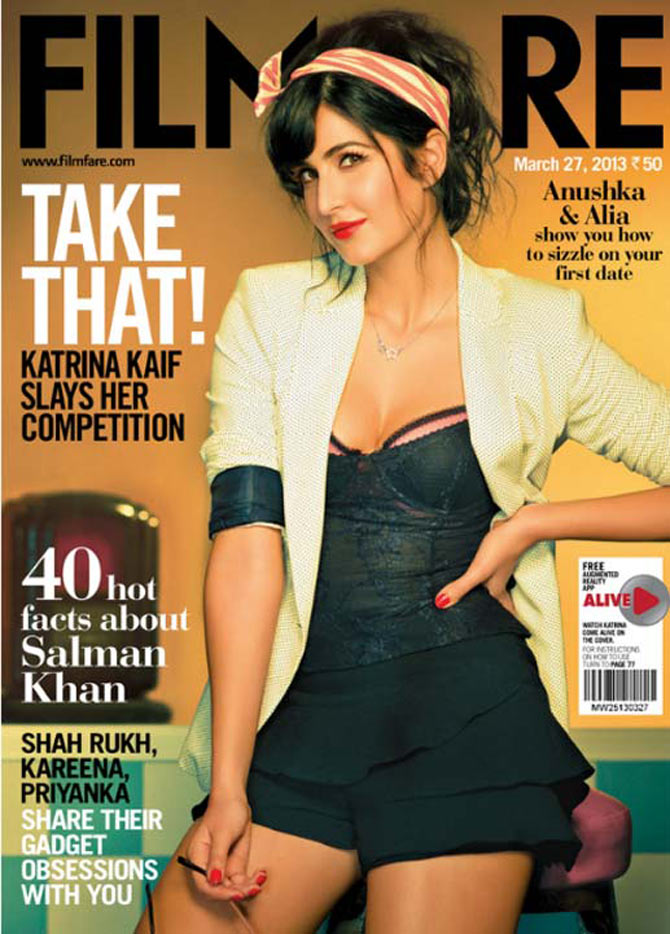 Katrina Kaif on Filmfare magazine