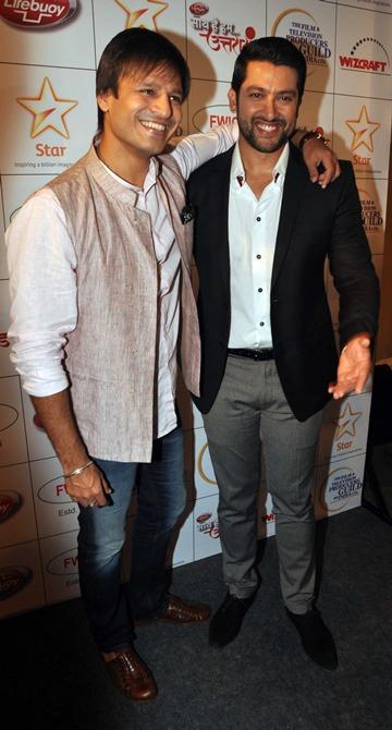 Vivek Oberoi and Aftab Shivdasani