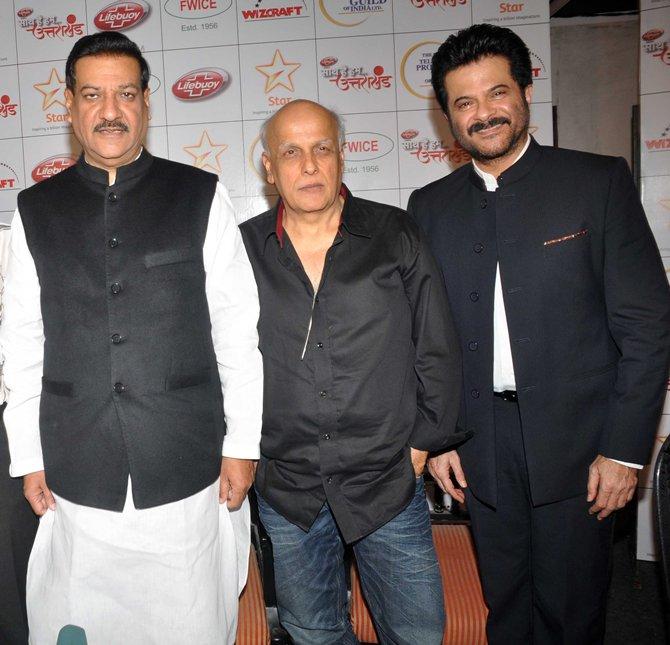 Prithviraj Chavan, MAhesh Bhatt and Anil Kapoor.