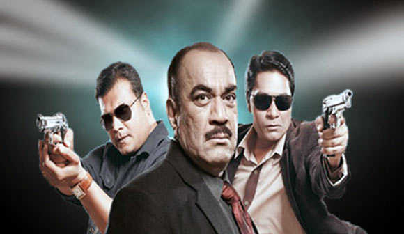 Dayanand Shetty, Shivaji Satam and Aditya Srivastav in Crime Patrol