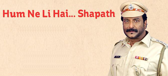 Milind Gunaji in Hum Ne Li Hai... Shapath