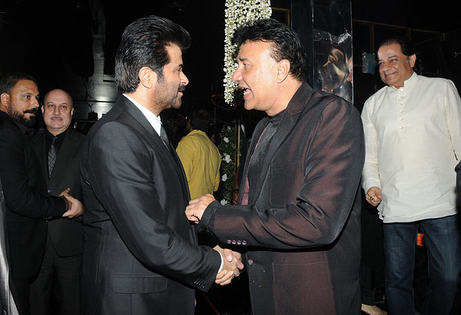 Anil Kapoor and Anu Malik