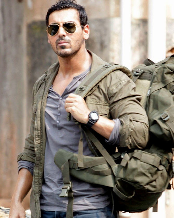 John Abraham in Madras Cafe, inset Seeman