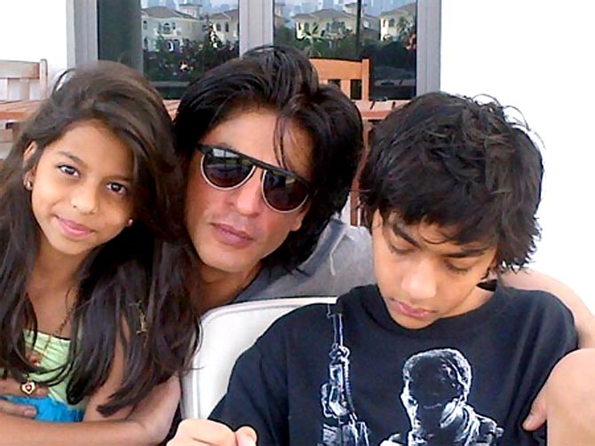 Suhana and Aryan Khan