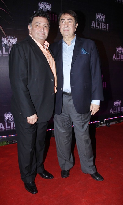 Rishi and Randhir Kapoor